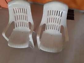 Plastic easy Chair