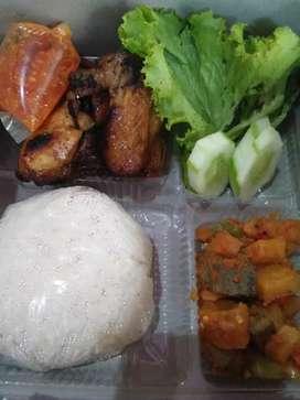 Ali catering,,nasi box/kotak/bento/bungkus/tumpeng dll.