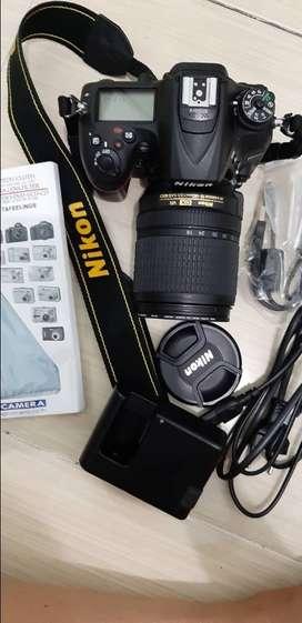 Nikon D7200 (msh baru, mulus, bonusnya tas, lensa protector, tripod,)