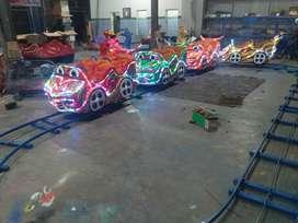 usaha wahana odong odong kereta panggung mini coaster rel bawah 11