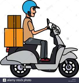 Need delivery person in all india
