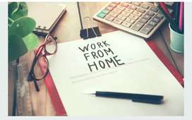 Simple hand writing home besed job available