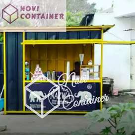 Container thai tea booth - container burger - container kedai kebab