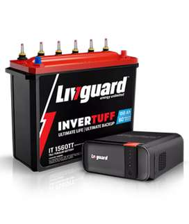 Livguard Inverter + 160Ah battery @18999/-