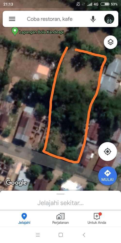 jual tanah dengan luas 13 are