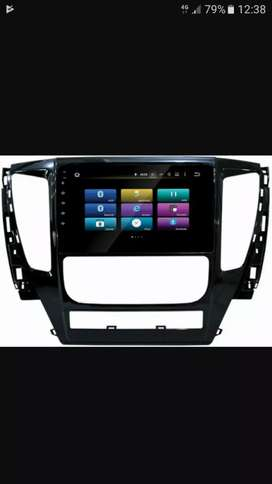 Head unit android khusus pajero