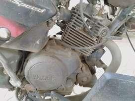 Yamaha gladiator engine chasis for sale