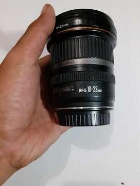 Lensa wide 10 22 USM canon