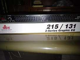Equalizer Dbx 215 baru