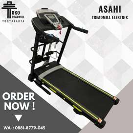 Treadmill Asahi Bisa COD Fitclass Garansi Resmi