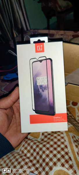 Brand New OnePlus 7 3D Glass Protector and Back Cover