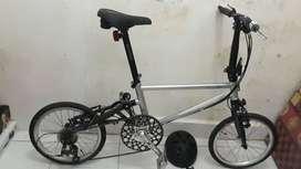Sepeda Lipat Tyrell ive 2020 (Folk Bike)