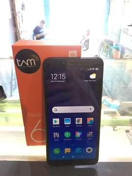 Xiaomi Redmi 6 4/64 Fullset Garansi Panjang