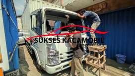 KACA MOBIL ISUZU ELF TRUCK + LAYANAN HOME SERVICE KACAMOBIL
