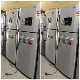 with 5 year warranty double  door fridge just RS,  9500 Rs only