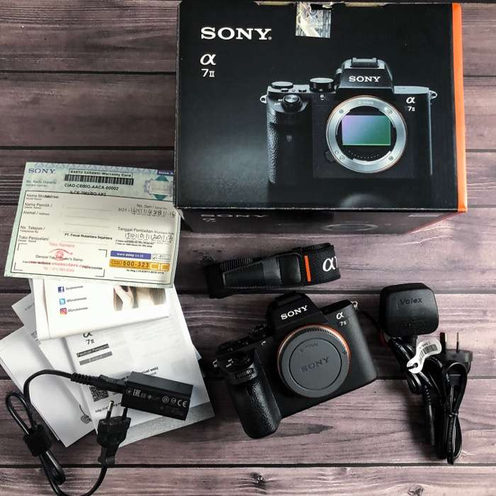 Sony A7 ii Camera Mirrorless Alpha 7 Mark 2 Body Only A7iii A7S A7R 0