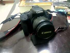 Canon 600D with 18-55mm and 50mm 10/10