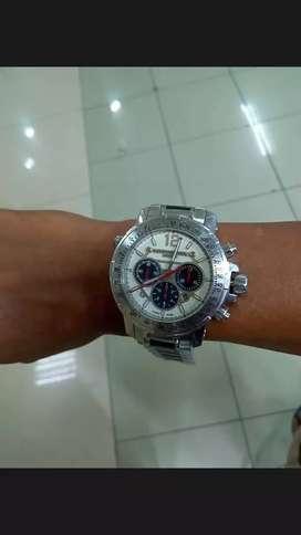 Jam tangan otomatis merek Raymond Weil genivev mewah dan berat tebal