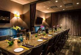Full Furnished Restaurant with modern interiors in CiT Road
