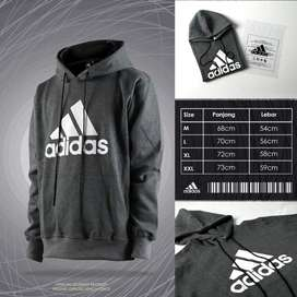 JUMPER HOODIE ADIDAS PERFORMANCE (DARK GREY)