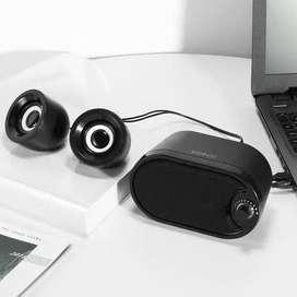 Gratis antar spiker speaker laptop robot rs170 LED stereo Mantap murah