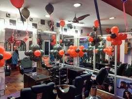 Sale for salon beauty parlor