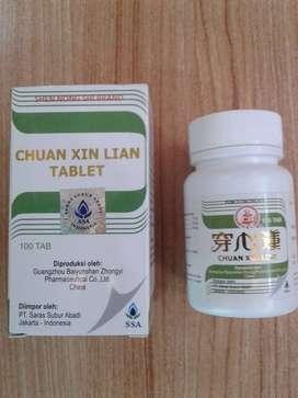 Chuan Xin Lian Obat Herbal Panas Dalam Radang Infeksi Anak Dewasa Aman