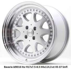 Bavaria Jd9016 Hsr R17x75 85 H4x114,3 et 45 37 Smfl