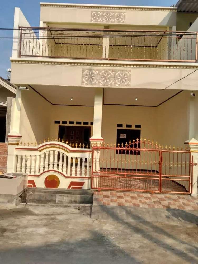 rumah tingkat 2 lantai6 kamar tidur