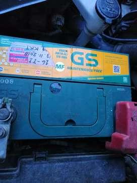Jual baterai mobil merk GS ASTRA