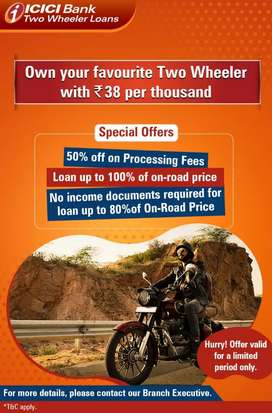 ICICI Bank Two Wheeler Loan Mela