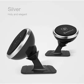 Baseus Magnetic Car Phone Holder For iPhone XS X Samsung Magnet Mount