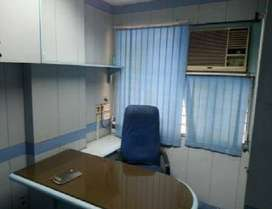 Fully-furnished 350 sqft office space on 2nd floor in chd