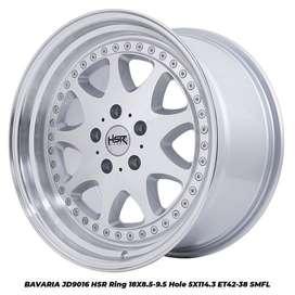 jual BAVARIA JD9016 HSR R18X85/95 H5X114,3 ET42/38 SMFL