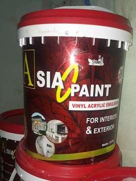 Jual cet tembok exterior&interior dengan mutu terbaik,asia paint