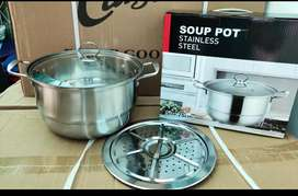 Soup pot kukusan stainles steel