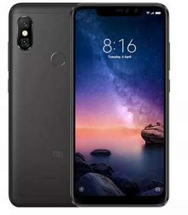 MI not 6 pro mobile good condition 3 GB 32 GB black