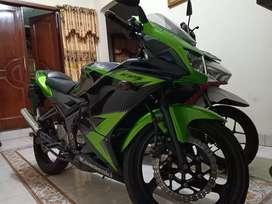 Ninja 150 RR th 2014 promo DP 1jt