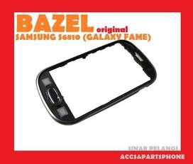 Bazel Bezel Middle Tulang tengah SAMSUNG S6810 Galaxy Fame Original