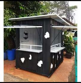 BIG PROMO! CONTAINER/BOOTH BOBA/CONTAINER CUSTOM MURAH MEWAH