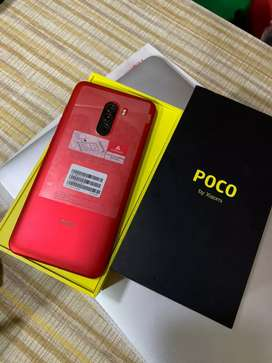 Poco f1 (6/128) .Blue Colour .9 Month Used