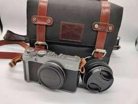 Fujifilm X-A7 24.2MP Mirrorless Camera(XC15-45mm+FujinonXF50mm F2 R WR