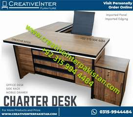 Reputablee UniqueStyle Office Table FullSet MasterDesigner Chair