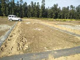 Plot for sale at dhoomnagar new mussoorie bypass dehradun
