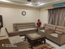 E 11 _ PER DAY The Beautiful Loaction 1 bed flat full furnished