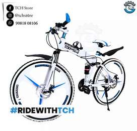 TCH BRAND NEW BM X6 FOLDABLE BICYCLE WITH 21SHIMANO GEARS COMBINATION