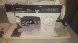 Sewing machine in new condition.