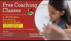 Tution Available Upto Class 10th