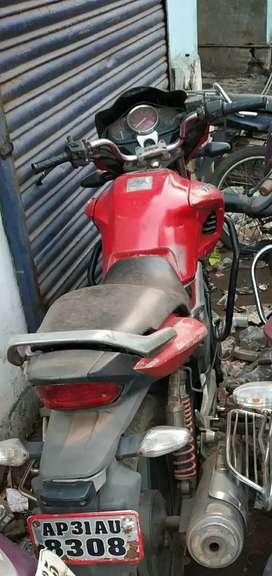 Hero Honda hunk self start full condition