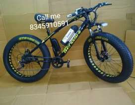 Fat tyre cycle new
